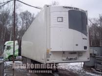Schmitz SKO24 мульти (2355) - Полуприцеп рефрижератор Schmitz SKO 24 13.4 fr 60 cool 12.2010 г.в мультитемпературный, 88м3, 13400х2500х2650см, стенка 5см, установка Thеrmo King slx400e Multi-Temp дизель/электро, Наработка 2312 м\ч., термопринтер, 3 оси саф, дисковые тормоза, ABS, резина остаток 50 процентов, палетный ящик, алюминиевый пол, ворота на двух запорах, продувочные лючки. разрешенная максимальная масса 39000кг,... »