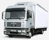 грузовики DAF XF, сцепки с рефрижераторами, шторными прицепами